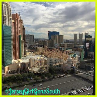 Las Vegas hotel view