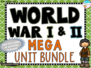 World War I and II Mega Unit Bundle